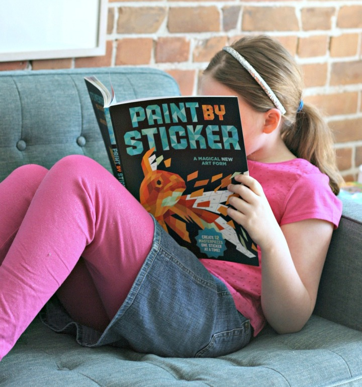 Create a masterpiece! Paint by Sticker + Win acopy!