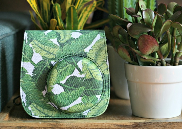 Urban Outfitters Instax case palm leaves