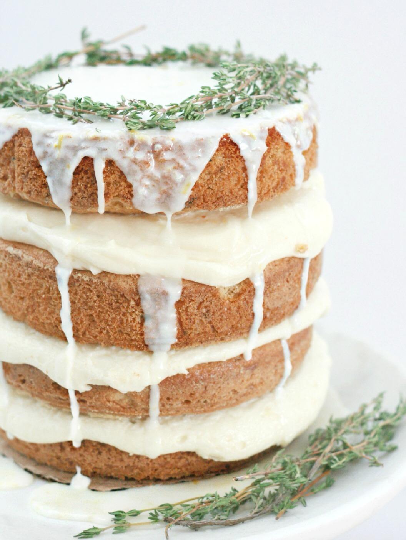 Layered by Tessa Huff Lemony Zuchinni cake close up 2