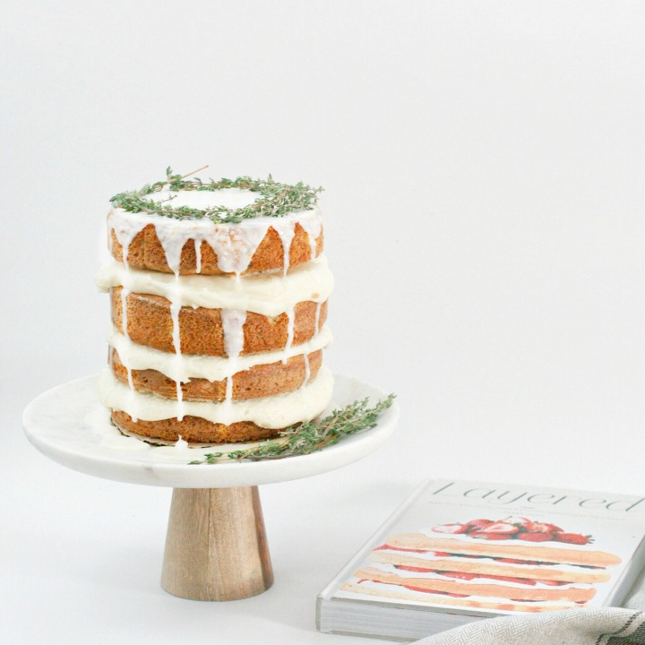 Layered: Baking, Building and Styling Spectacular Cakes by TessaHuff