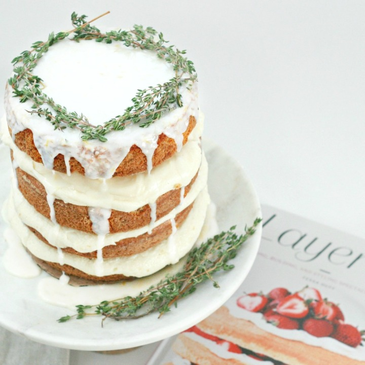 Layered by Tessa Huff Lemony Zuchinni cake from above 1000 2