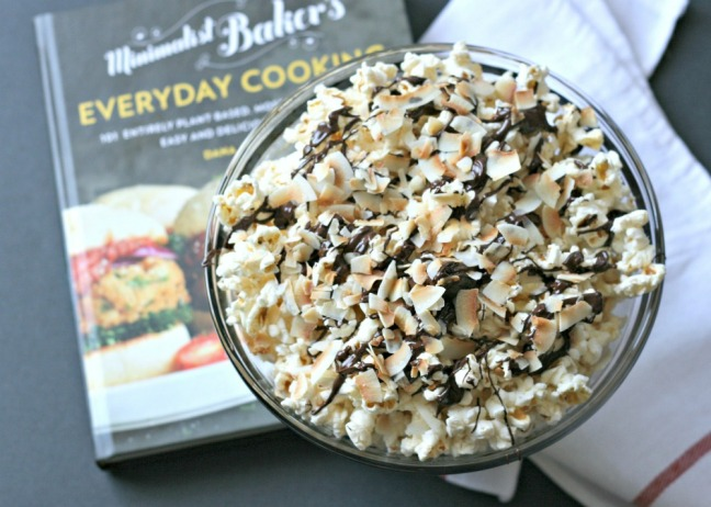 Minimalist Baker's Everyday Cooking Toasted Coconut Dark Chocolate Popcorn 1000