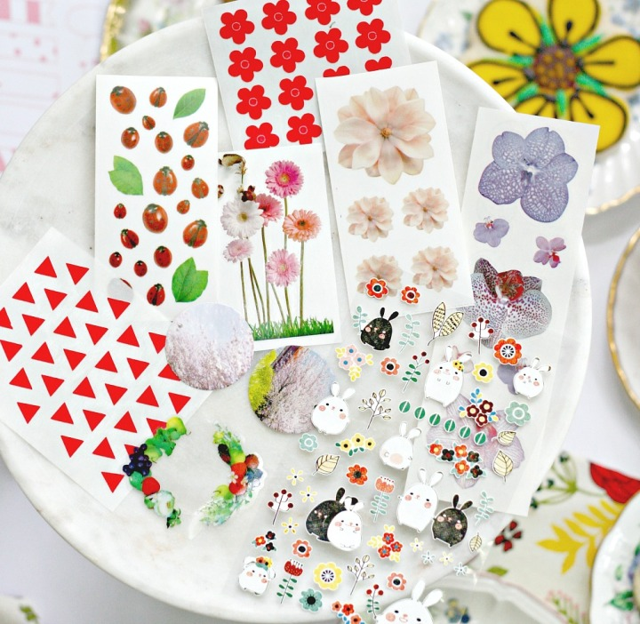 Pipsticks May Pro Club Pack flower stickers