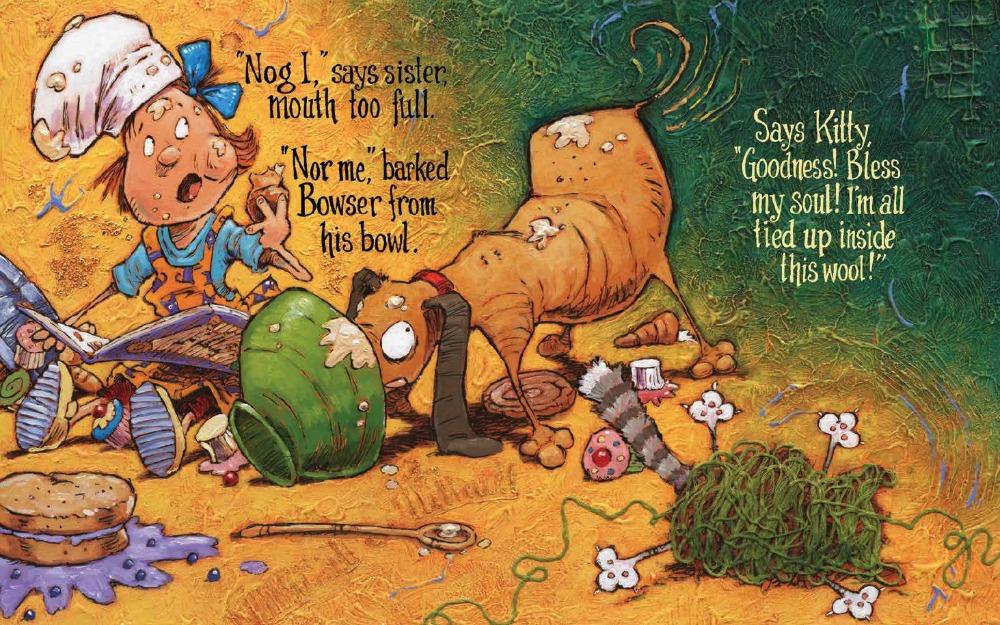 Who Broke the Teapot by Bill Slavin spread 2