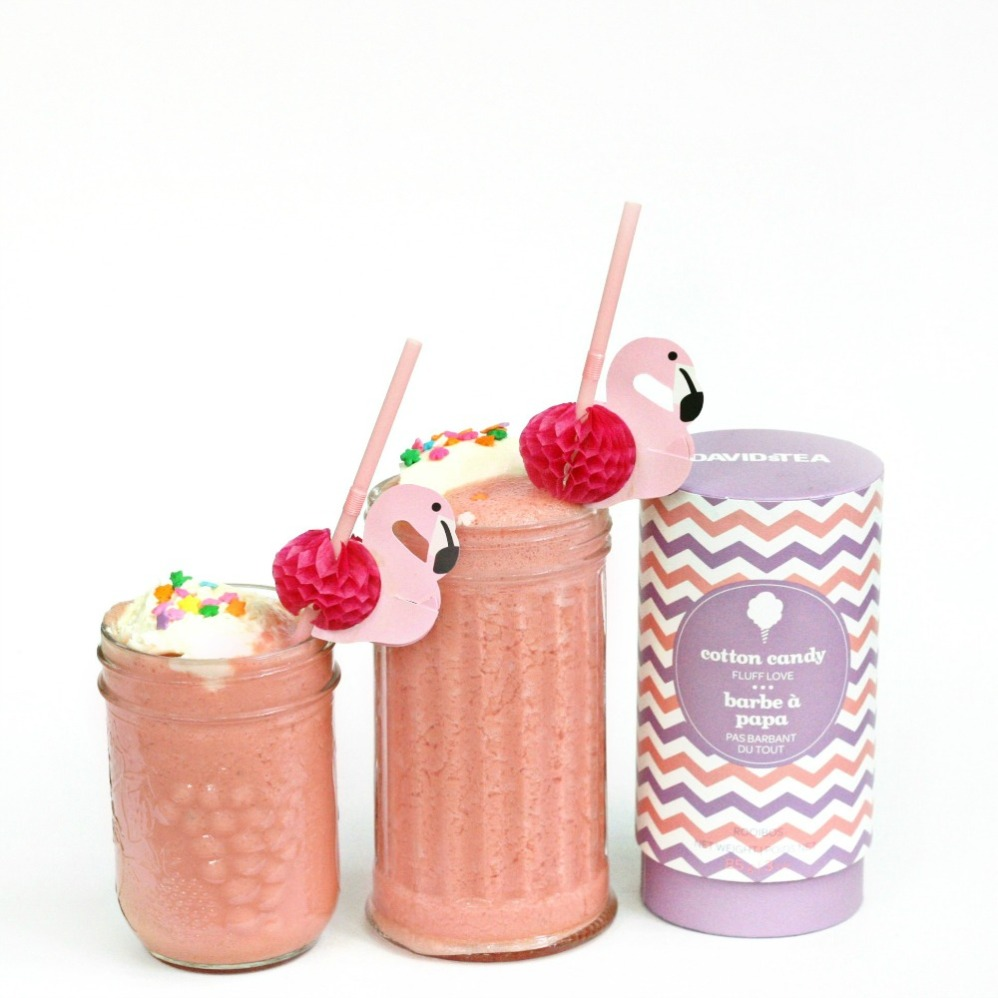 cotton candy watermelon slushy float DAVIDsTEA flamingo 2