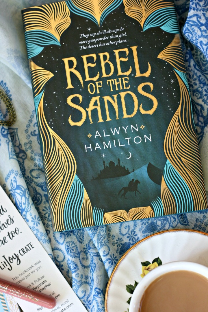 LitJoy CRATE Rebel of the Sands by Alwyn Hamilton 2