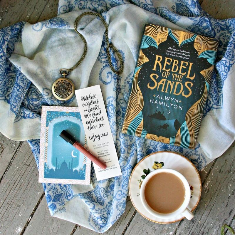 LitJoy CRATE Rebel of the Sands by Alwyn Hamilton 3