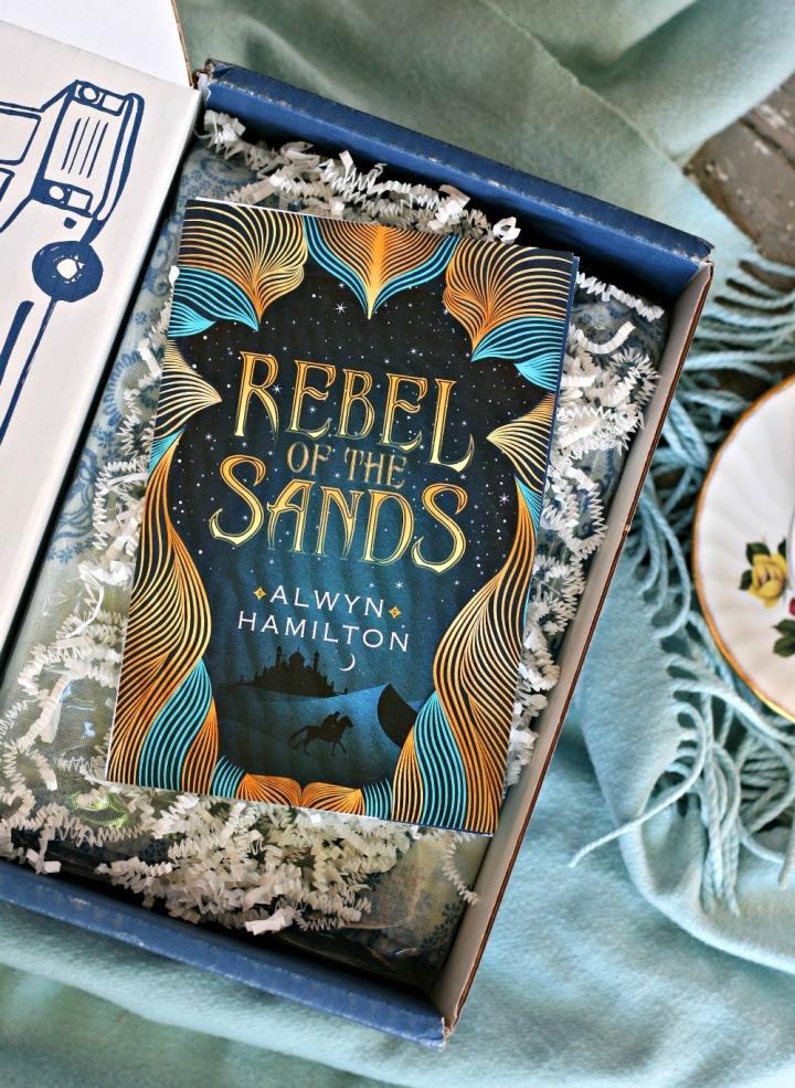 LitJoy CRATE Rebel of the Sands by Alwyn Hamilton