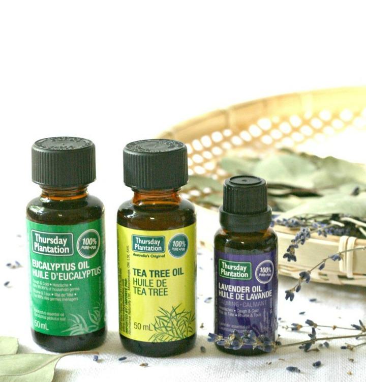 Thursday Plantation essential oils