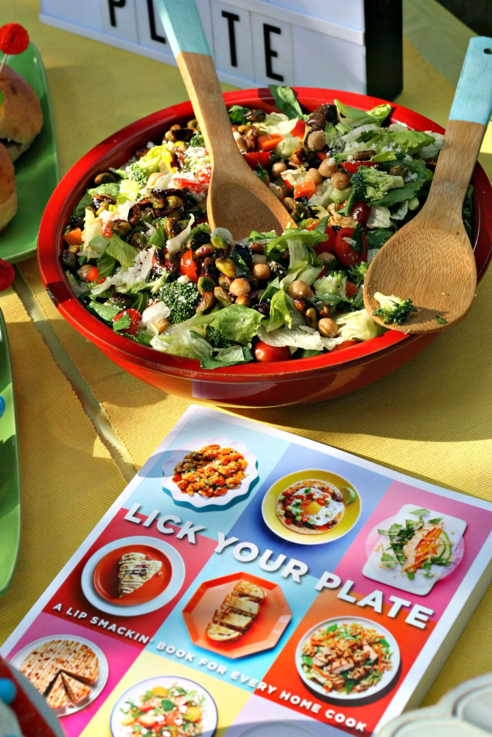 Lick Your Plate Italian Chopped Salad with Creamy Parmesan Dressing