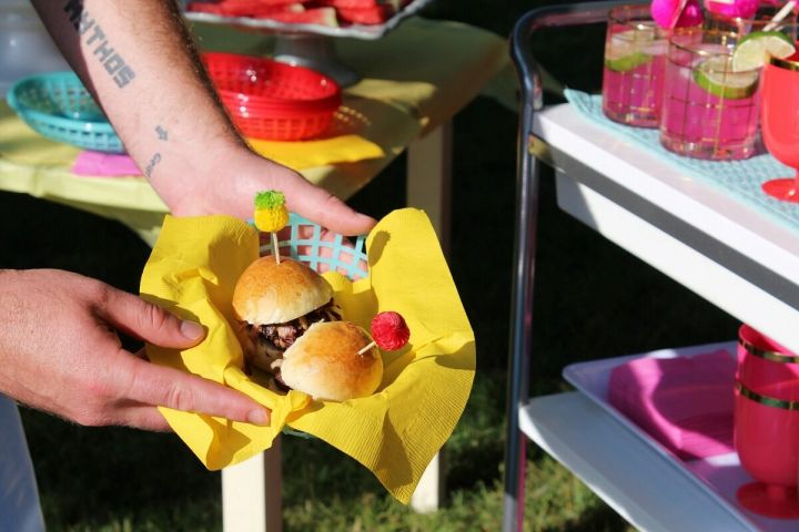 The Best of This Life turkey sliders in basket