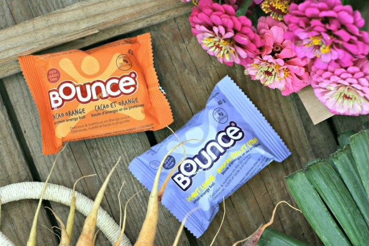 Bounce energy balls cacao orange and coconut lemon 2