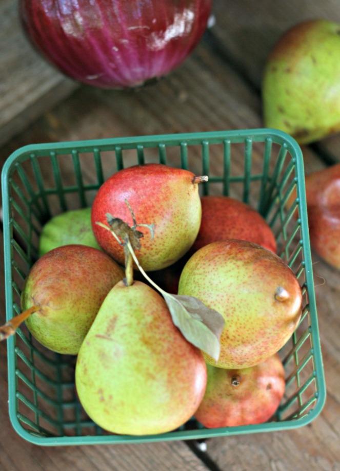 Bounce energy balls pears