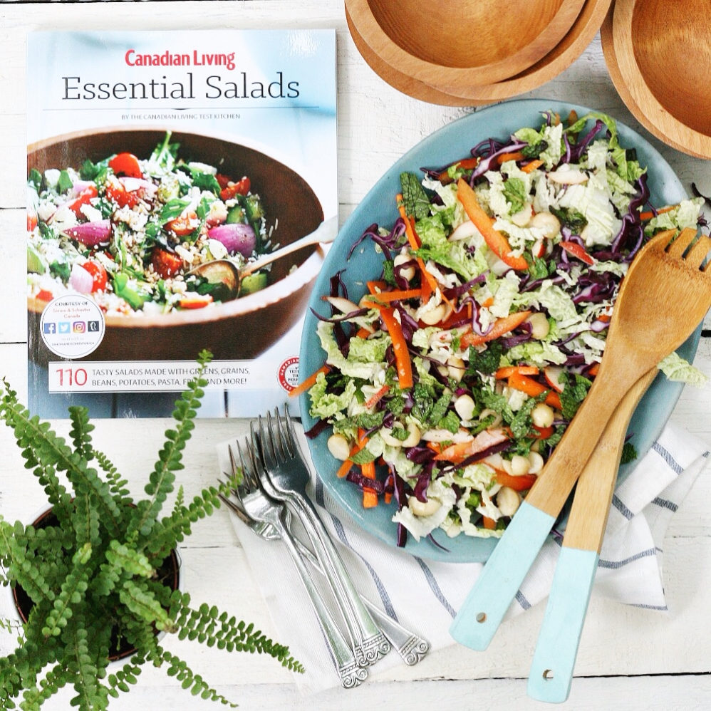 Canadian Living Essential Salads cover 3