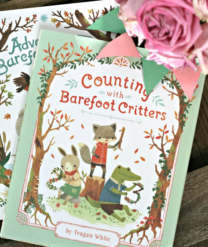 Counting with Barefoot Critters by Teagan White + Agiveaway!