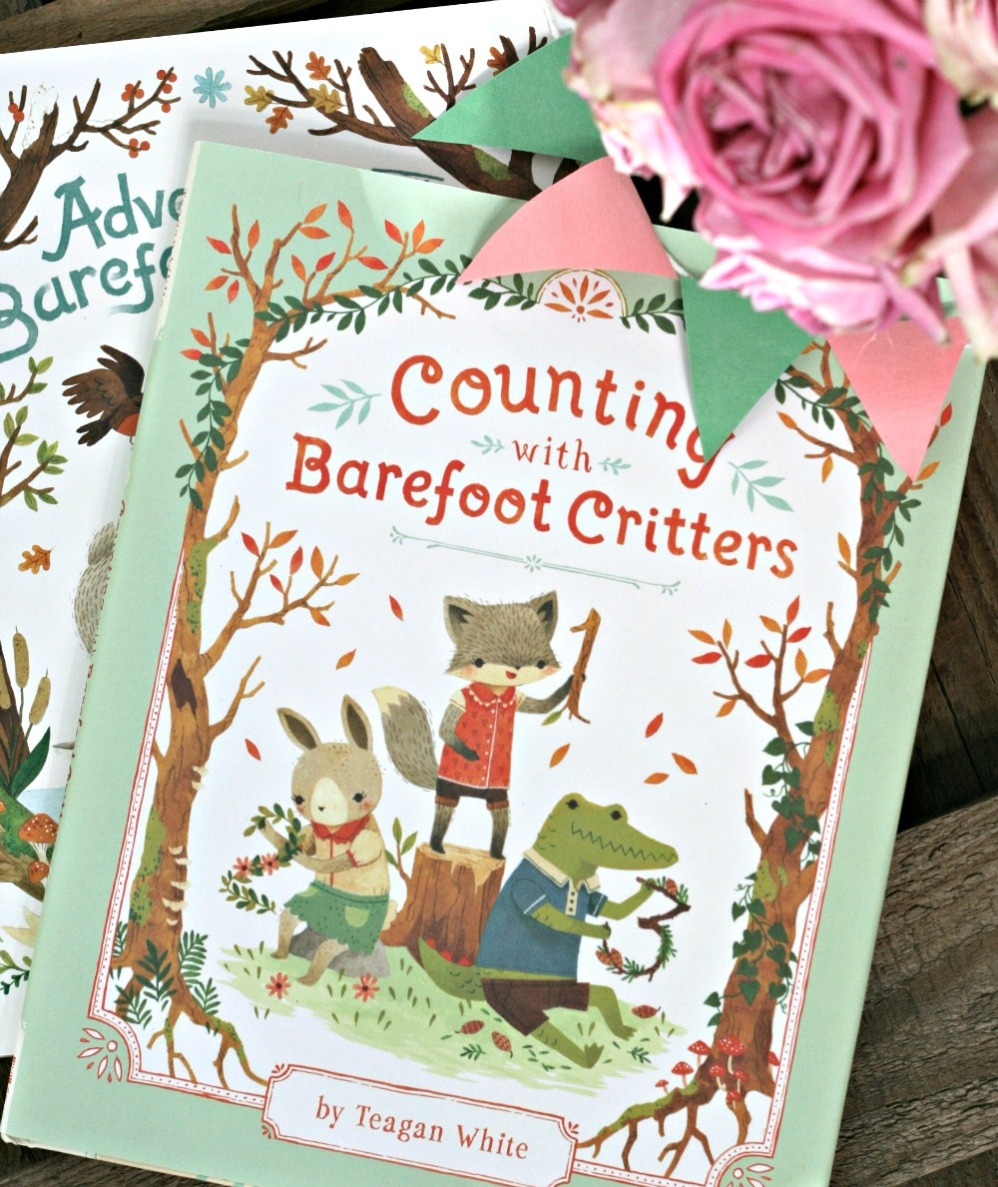 Counting with Barefoot Critters by Teagan White cover