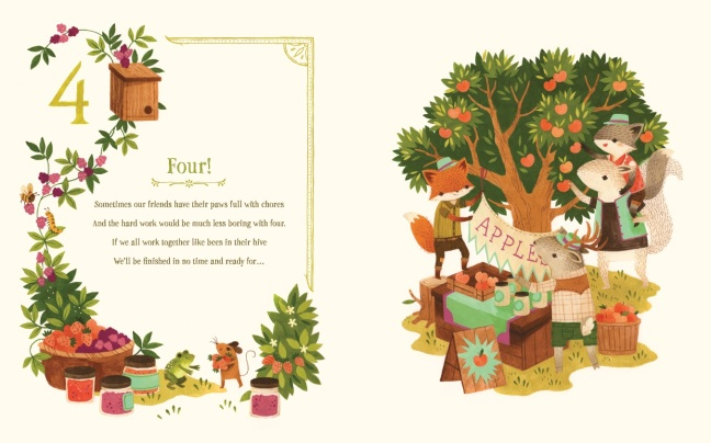 Counting with Barefoot Critters_Four
