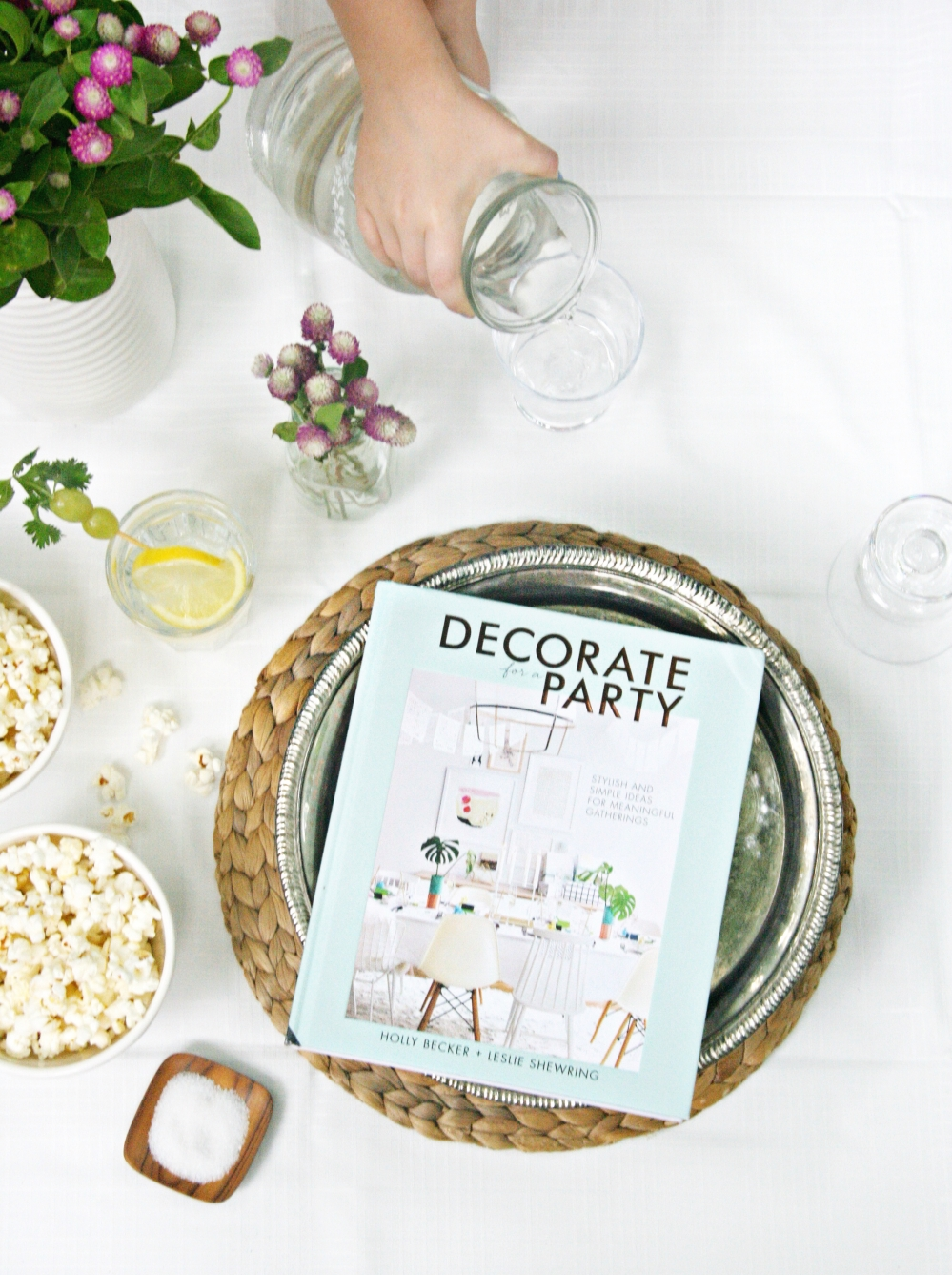 Decorate for a Party by Holly Becker and Leslie Shewring cover vertical