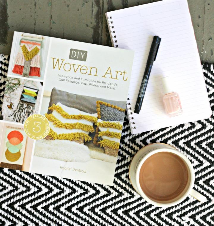 DIY Woven Art by Rachel Denbow + Win acopy!