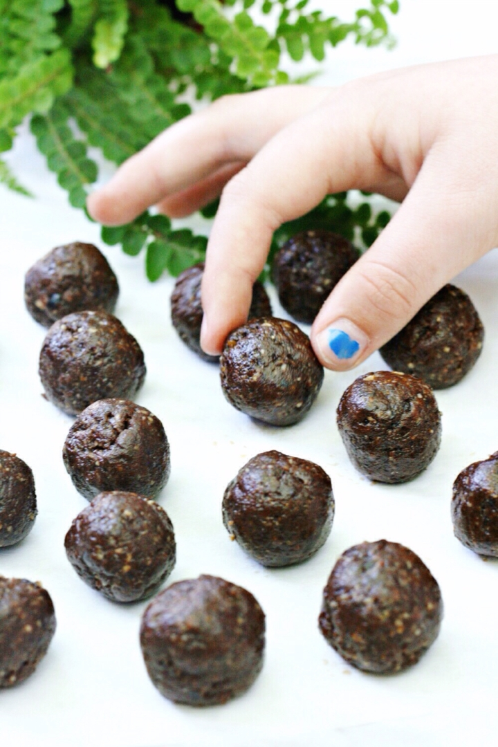 Purely Pumpkin truffles