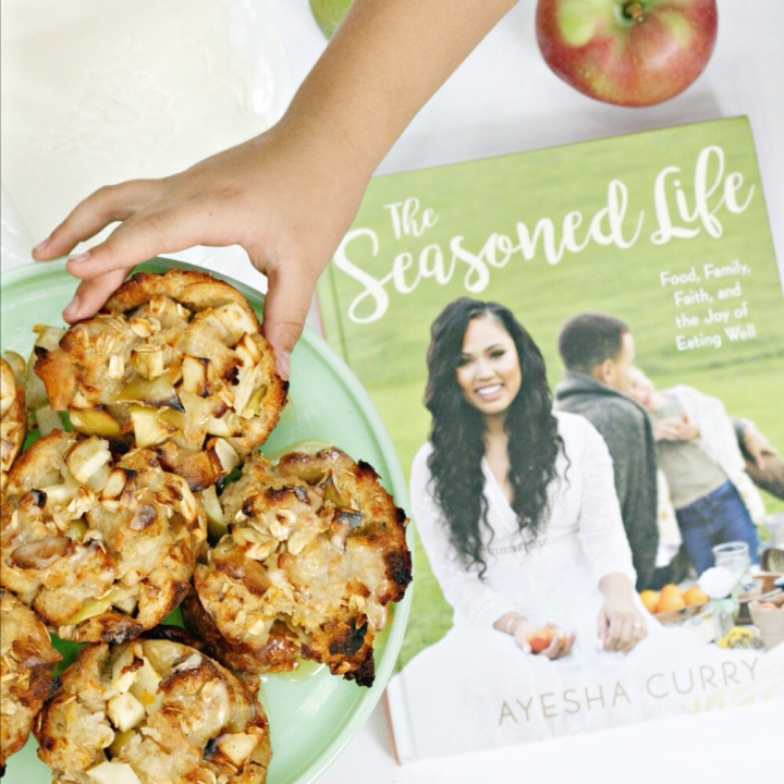 The Seasoned Life: Food, Family, Faith, and the Joy of Eating Well by Ayesha Curry + Win a copy!