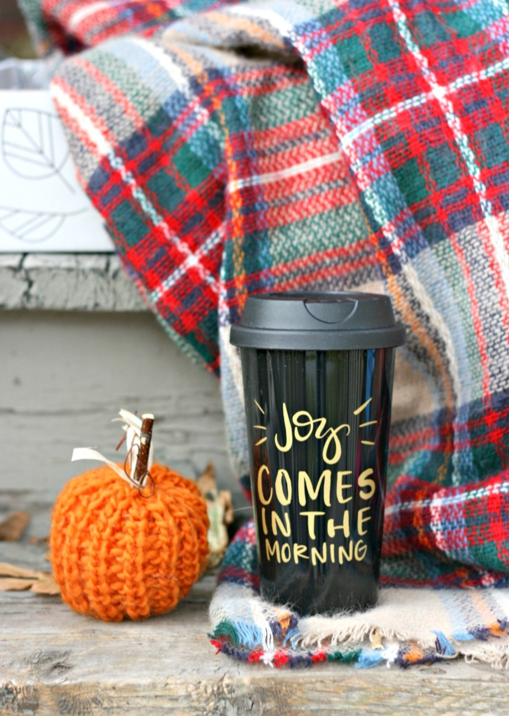 fabfitfun-joy-comes-in-the-morning-to-go-coffee-mug-and-modcloth-loch-and-key-scarf