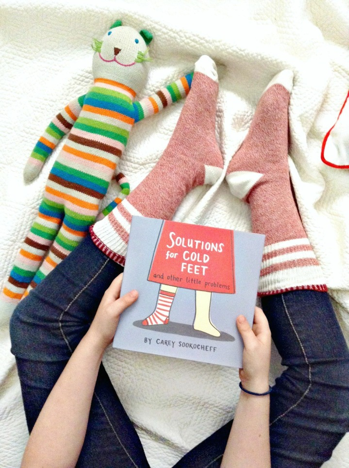 Solutions for Cold Feet and Other Little Problems by Carey Sookocheff + Win acopy!
