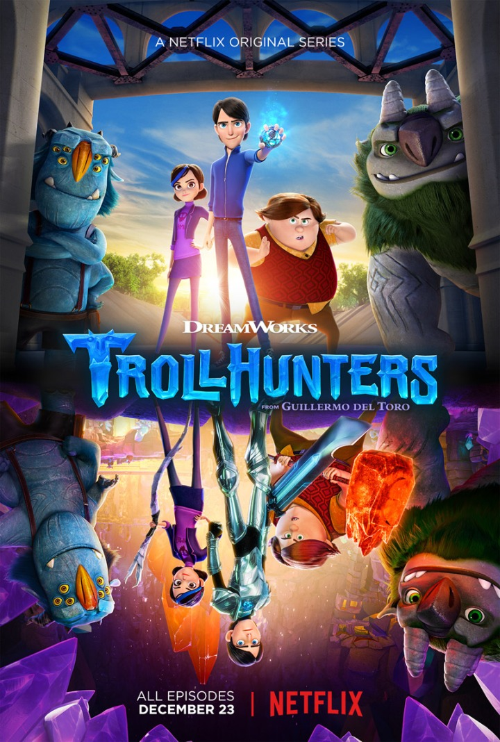 Holidays are happier with Trollhunters on Netflix
