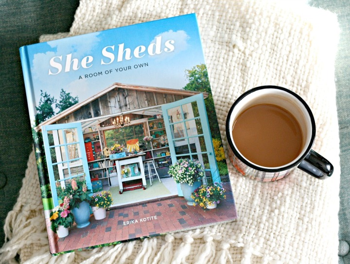 She Sheds: A Room of Your Own by Erika Kotite + Win a copy!