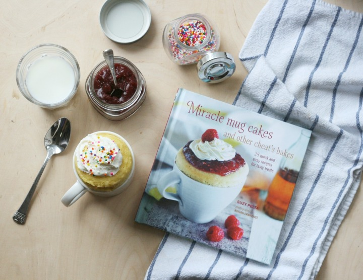 Miracle Mug Cakes and Other Cheat's Bakes by Suzy Pelta + Win a copy!