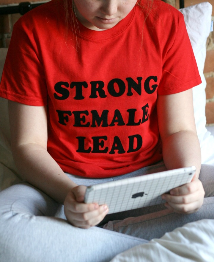 Strong female lead #Netflix #StreamTeam