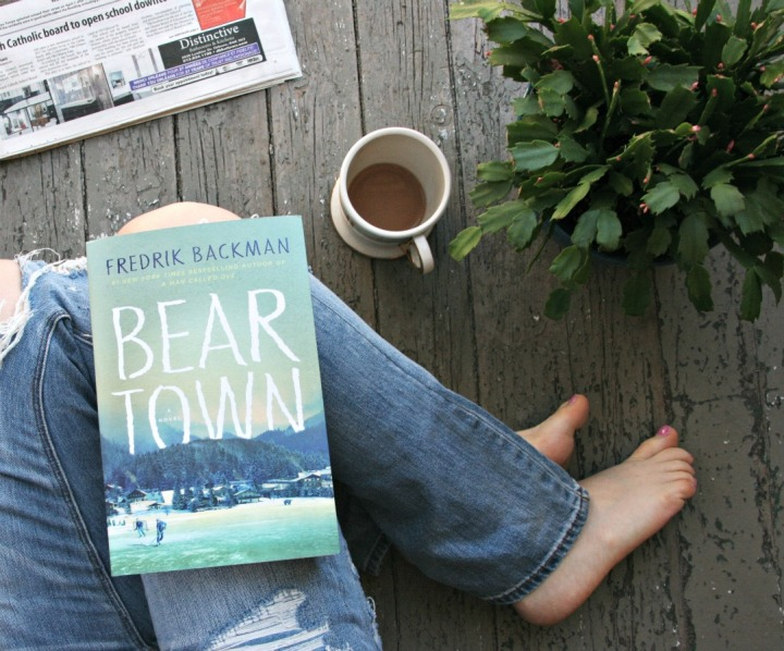 Five things + Win Beartown by Fredrik Backman