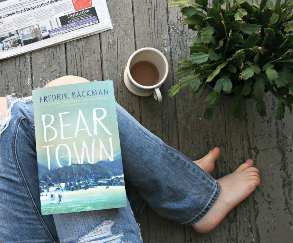 Beartown A Novel by Fredrik Backman (cover)