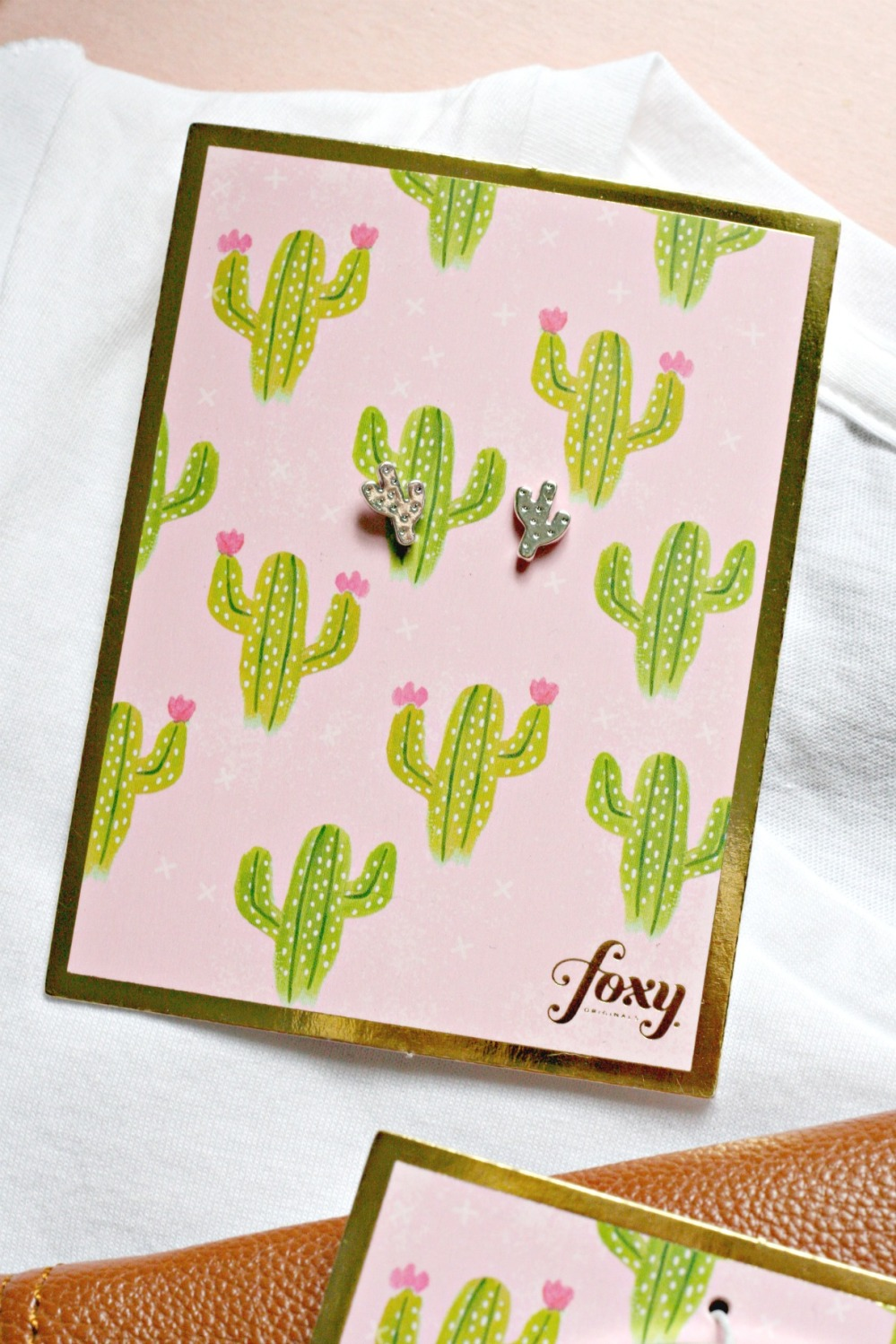 Foxy Originals cactus earrings try small things