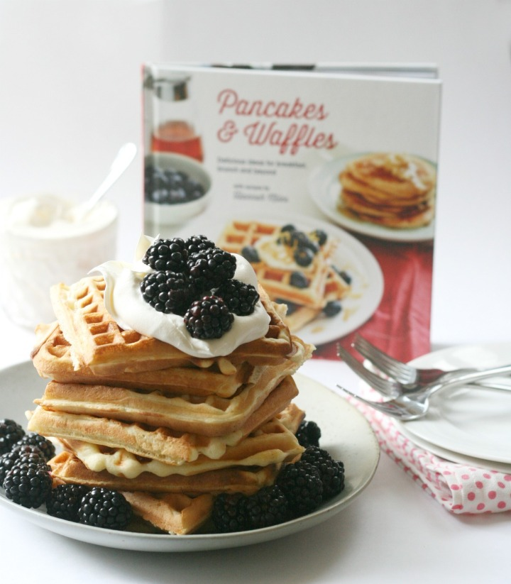 Pancakes & Waffles: Delicious Ideas for Breakfast, Brunch and Beyond by Hannah Miles