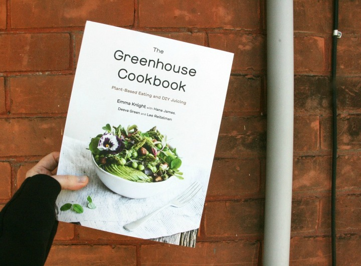 The Greenhouse Cookbook cover try small things