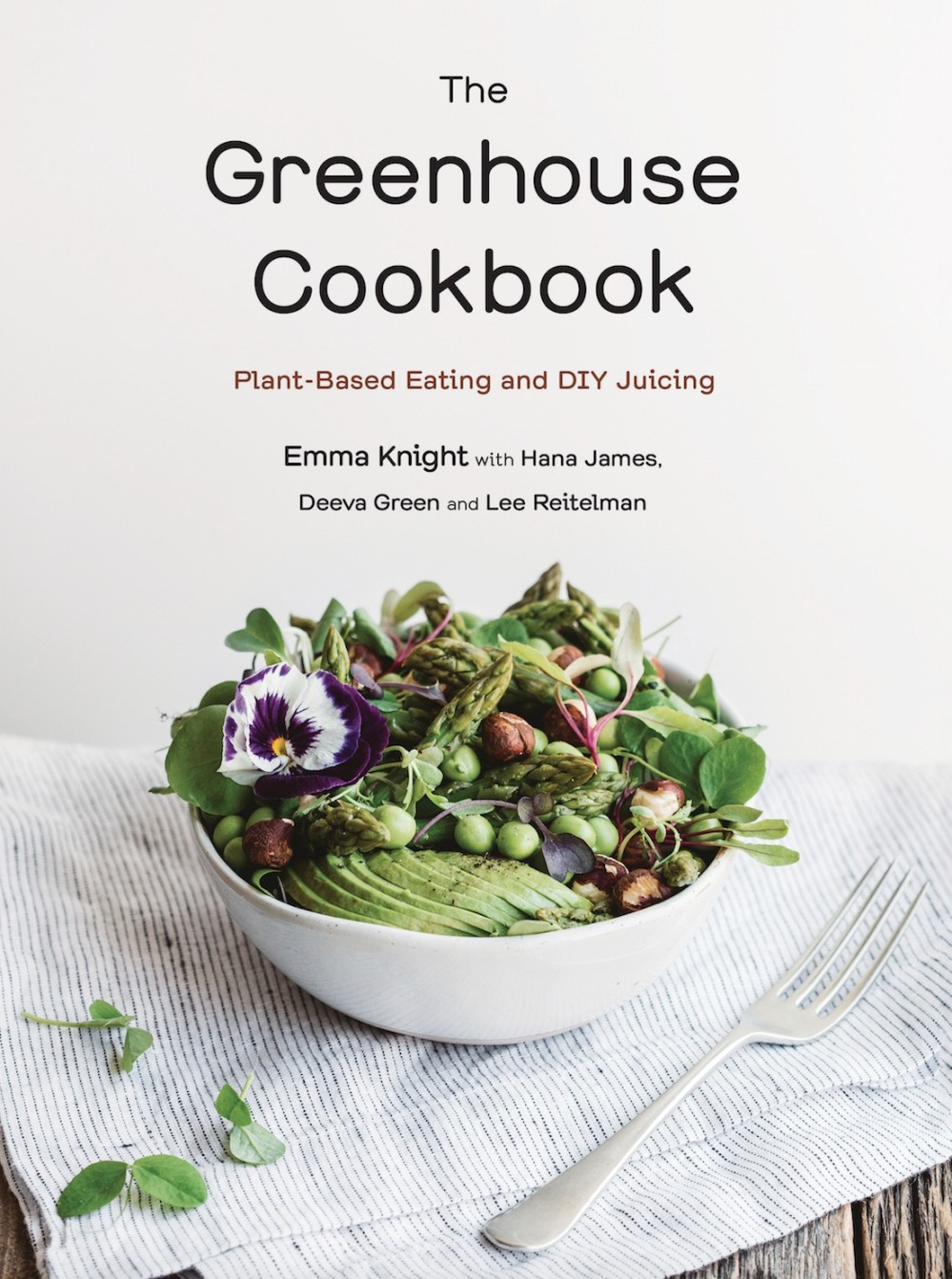 The Greenhouse Cookbook cover