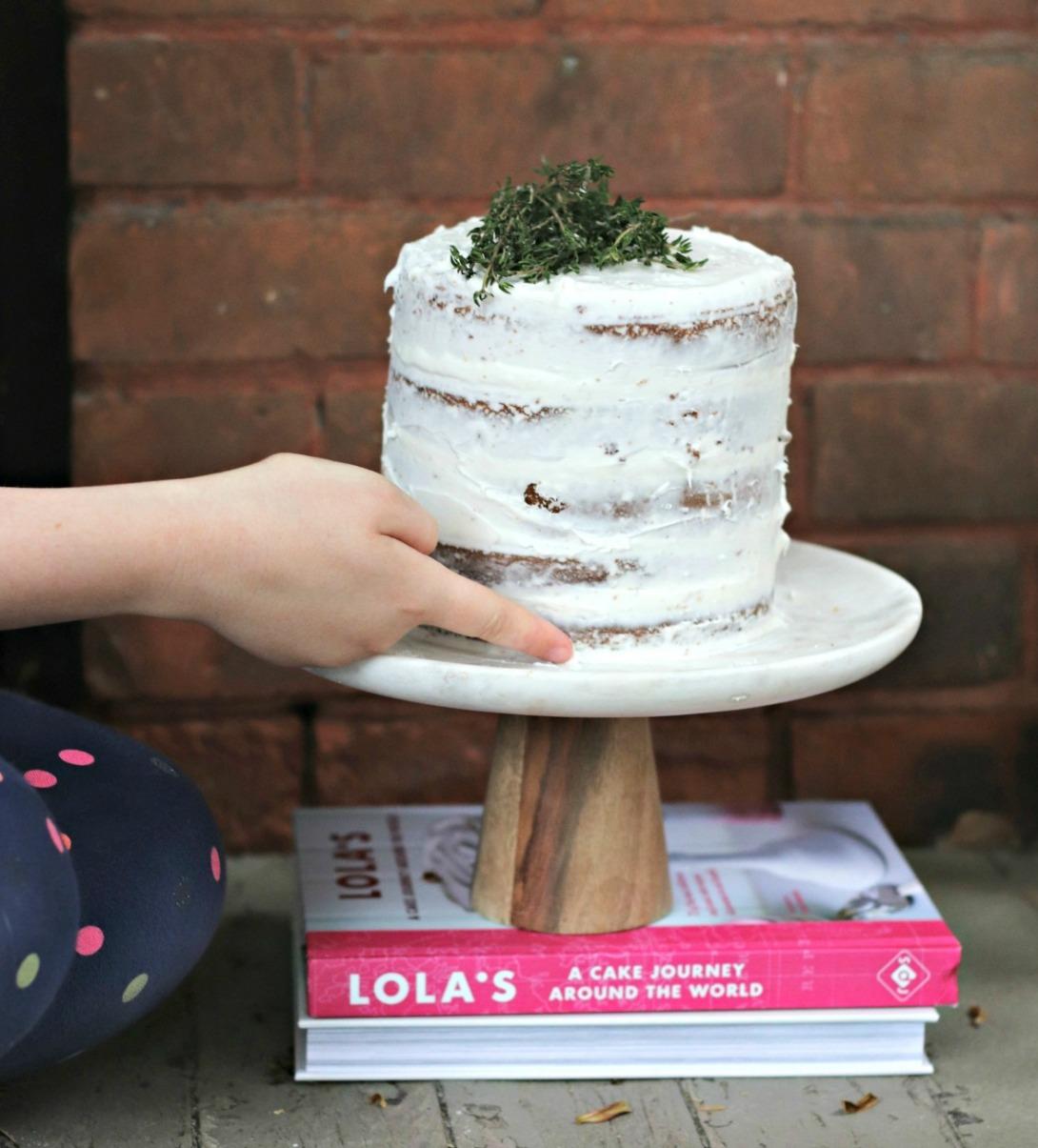 Lola's A Cake Journey Around the World carrot cake swiping