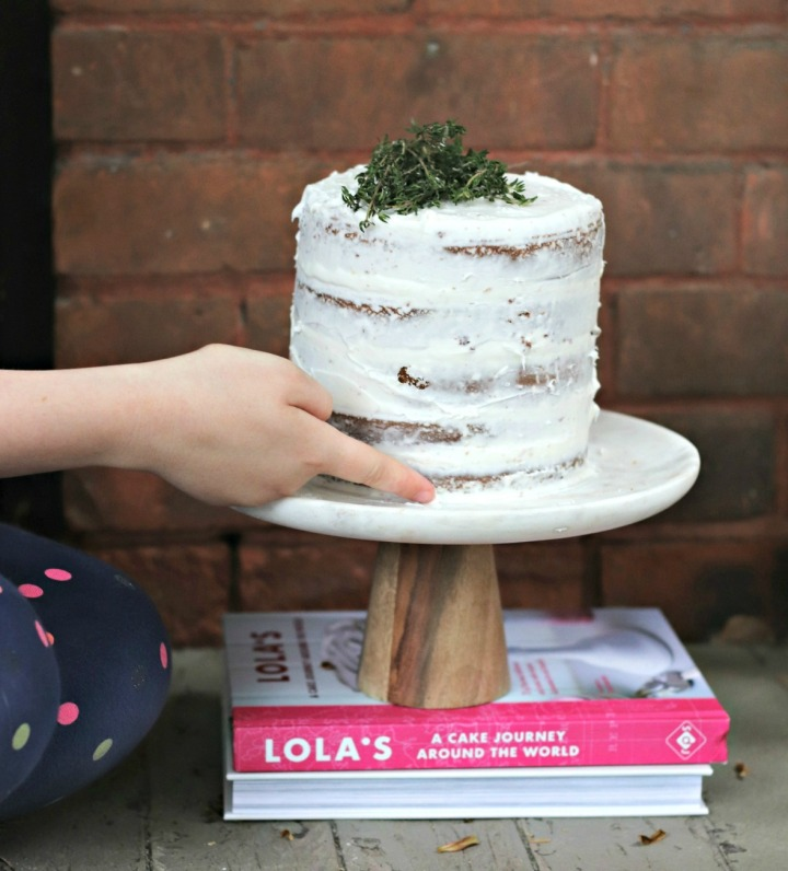 Lola's A Cake Journey Around the World carrot cake swiping