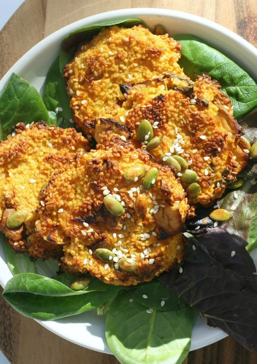 Squash Fritters Good Veg try small things