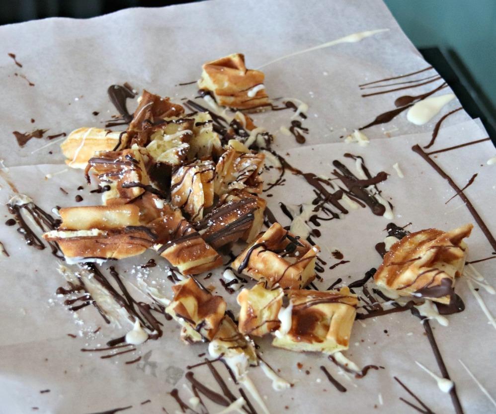 Cacao 70 Gatineau waffle samples