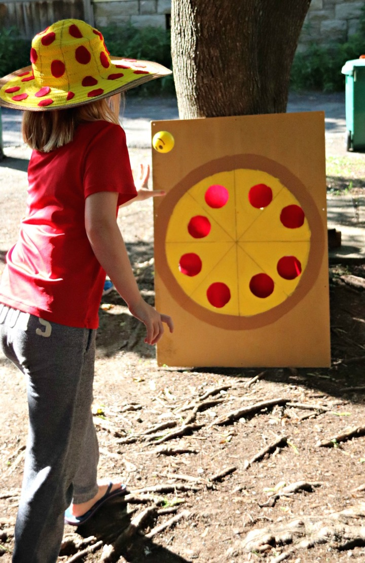 Panago Pizza pizza toss game