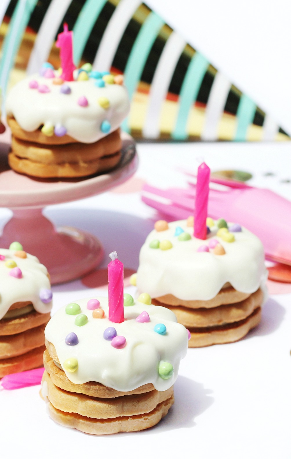 Sweet! Celebrations mini cookie birthday cakes try small things