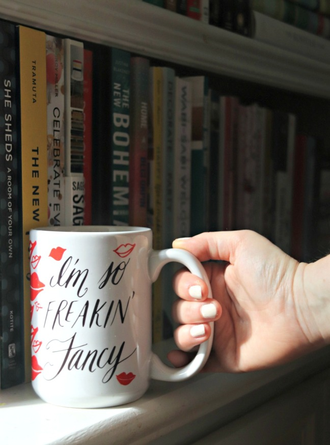 Thimblepress I'm so freakin' fancy mug