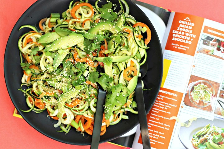 Chilled Asian Zoodle Salad