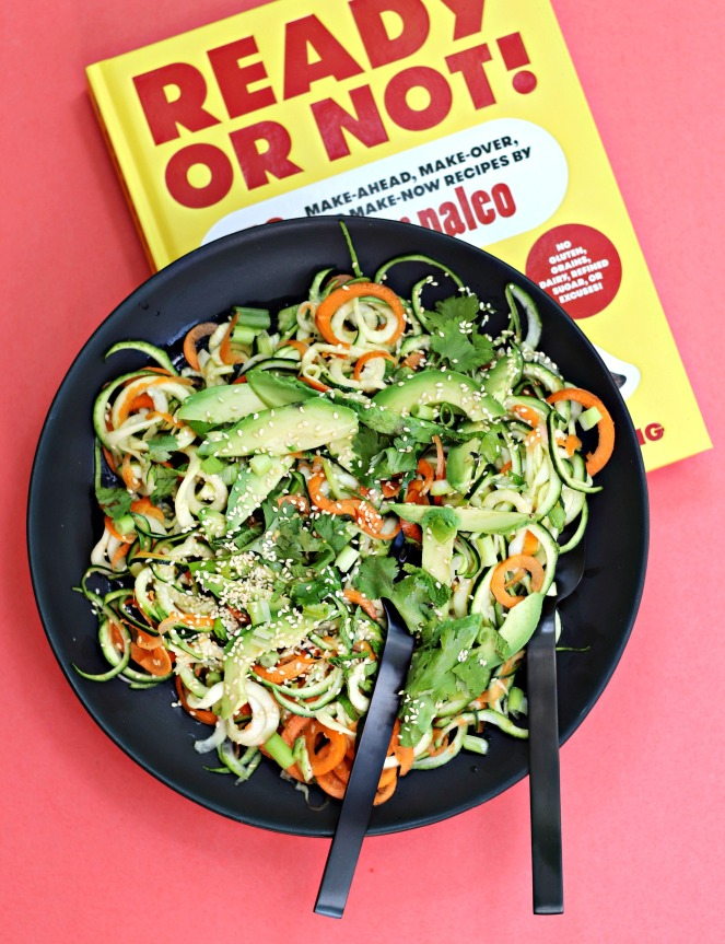 Ready or Not zoodle salad ig