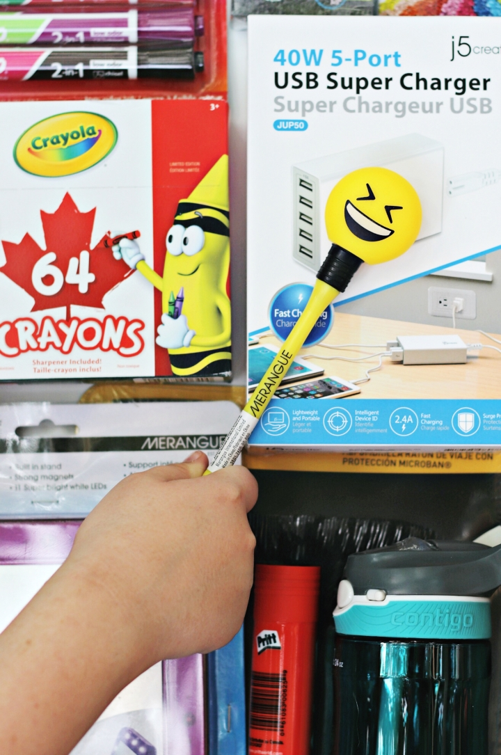 Staples Canada BTS 2017 Merangue Emoji Pencil