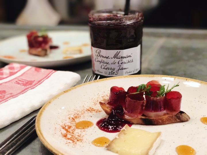 Bonne Maman Fauna Ottawa second course cherry jam