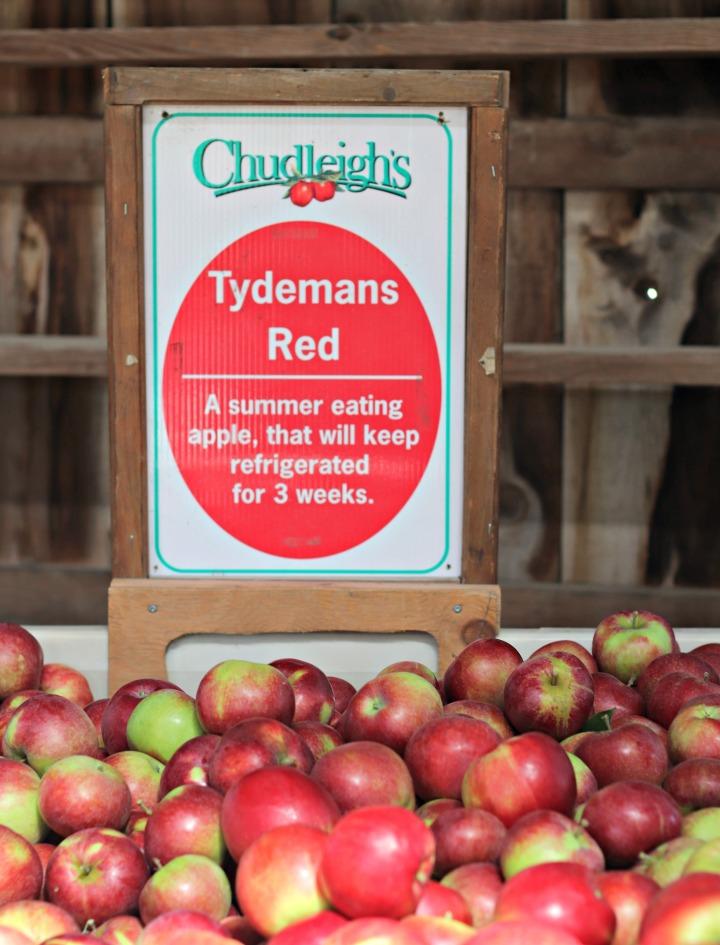 Chudleighs Tydemans Red