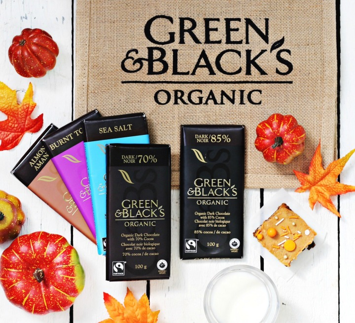 Green & Black's Chocolate Pumpkin Brownies prize pack try small things 2